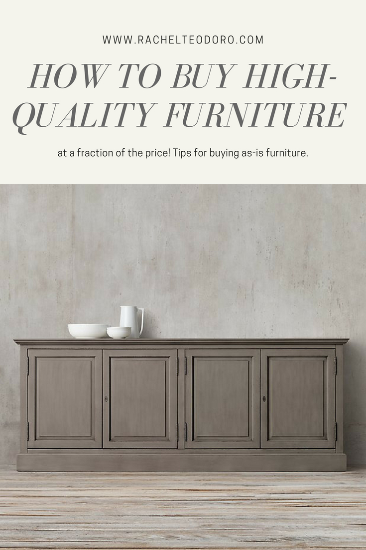restoration hardware french console on sale