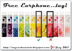 @1 july : Free Earphone...Lagi..