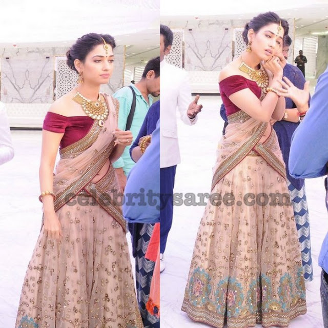 tamannah-heavy-work-half-sarees2