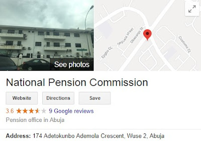 2018 National Pension Commission Recruitment - PenCom Registration Portal