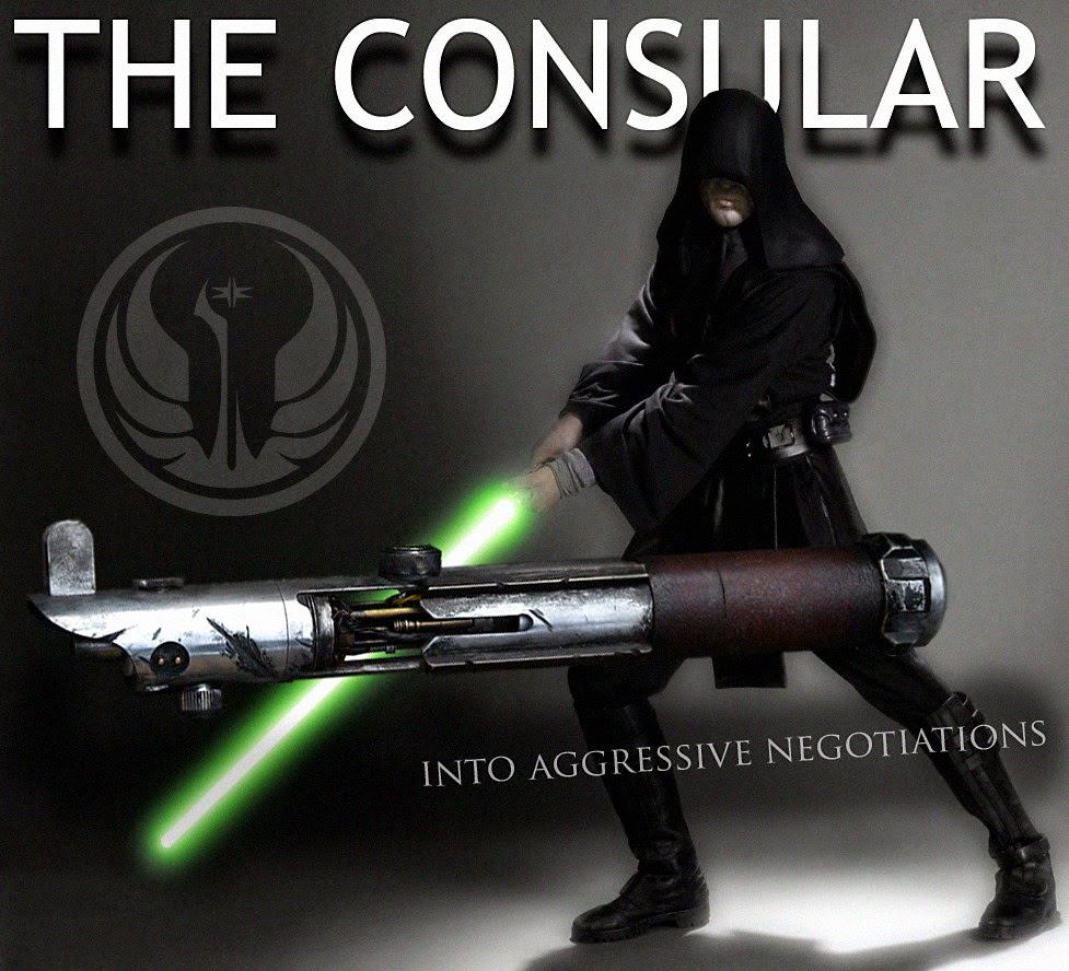 Ro Lightsabers The Consular Lightsaber