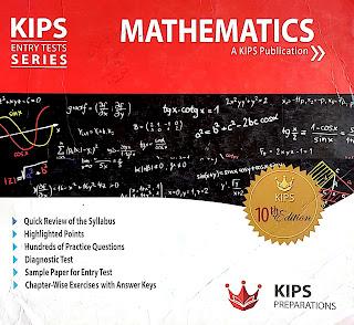 KIPS Maths Entry Test Book For ECAT - EducatedZone