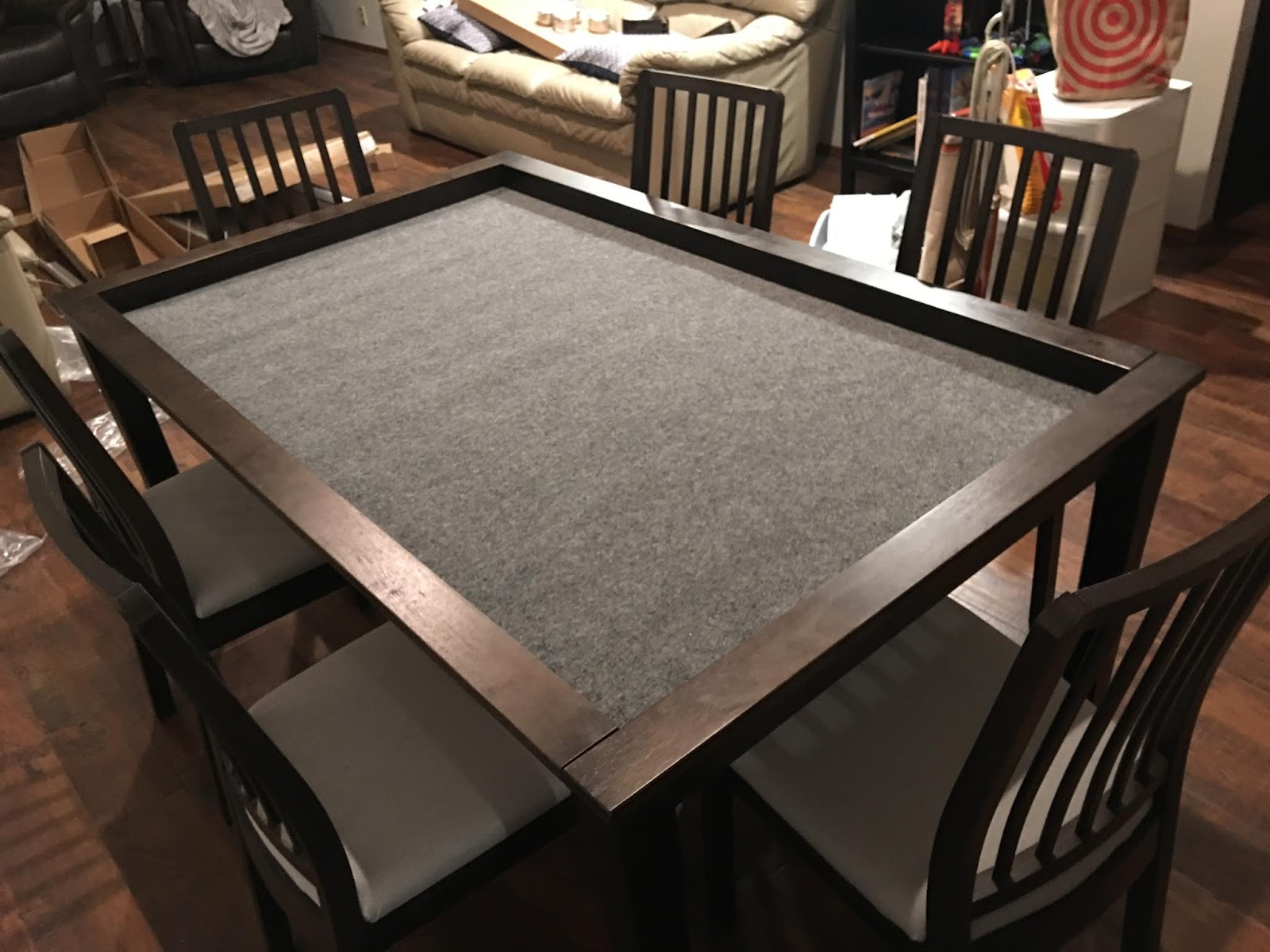 Steel Strategy's Unnamed Blog: My New Gaming Table - A Review of