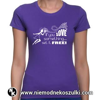 koszulka z motywem miłosnym