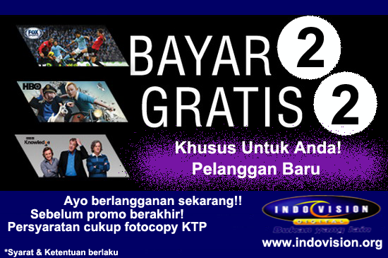 Indovision TV Promo Buy 2 Get 2 Juli 2013