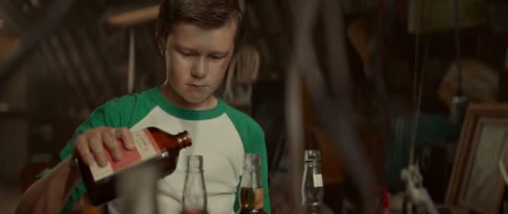 El daño del alcoholismo de la octavilla