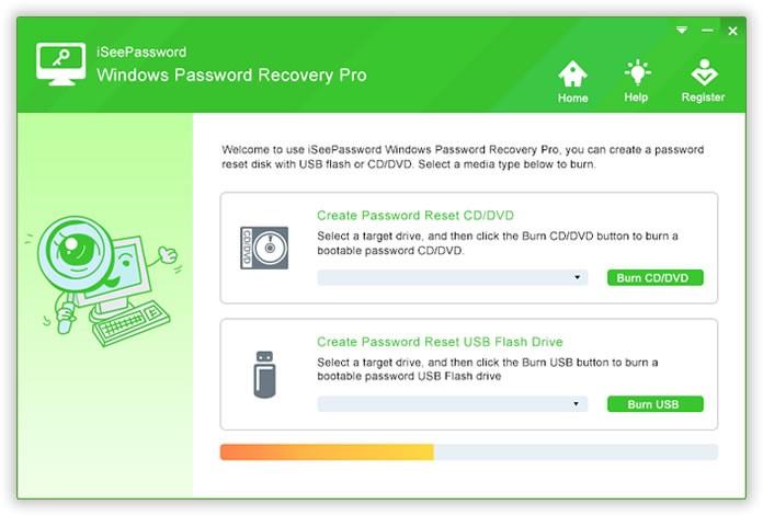 iSeePassword Recovery Pro