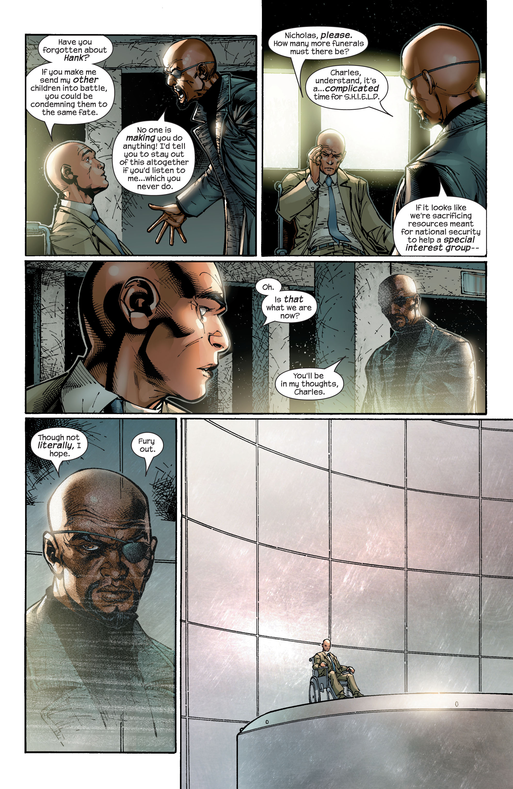 Read online Ultimate X-Men comic -  Issue #47 - 16