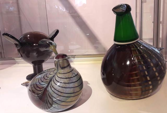 Glass designer Oiva Toikka Finland