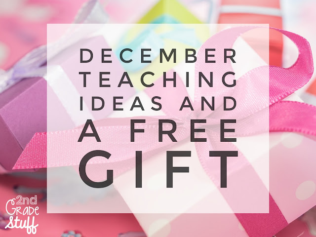 December teaching activities (writing, math, reading) and a FREE download!