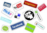 Social Media - Facebook, Twitter, Google+, Instagram, Pinterest, Digg, Flickr, VK, Youtube