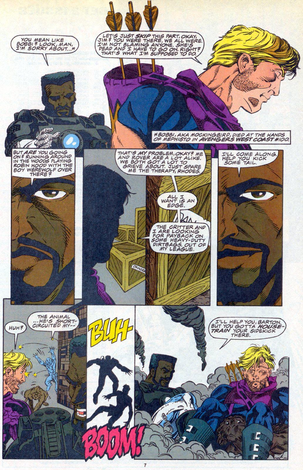Hawkeye (1994) Issue #3 #3 - English 6
