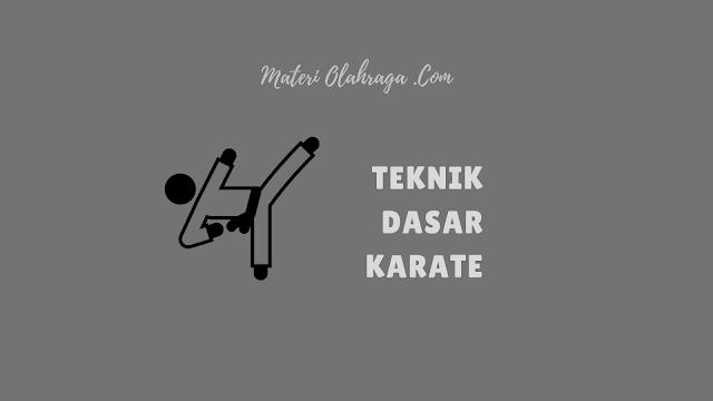 10 Teknik Dasar Karate Beserta Gambarnya Bagi Pemula
