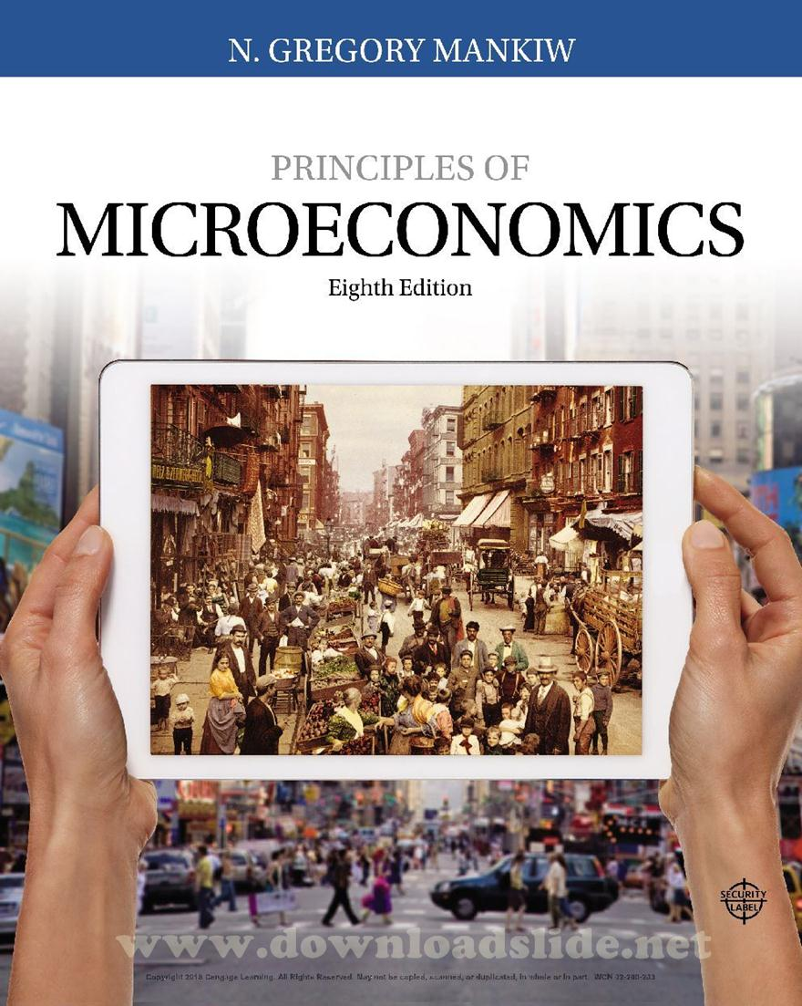 Ebook Principles of Microeconomics 8th Edition by Mankiw