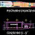 مخطط مشروع مطعم بشكل مميز اوتوكاد dwg