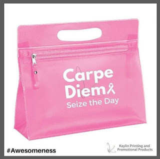 Promotional Pink Ribbon Vanity Bag