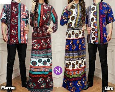 Jual Baju Batik Couple Batik Srikandi - 12452