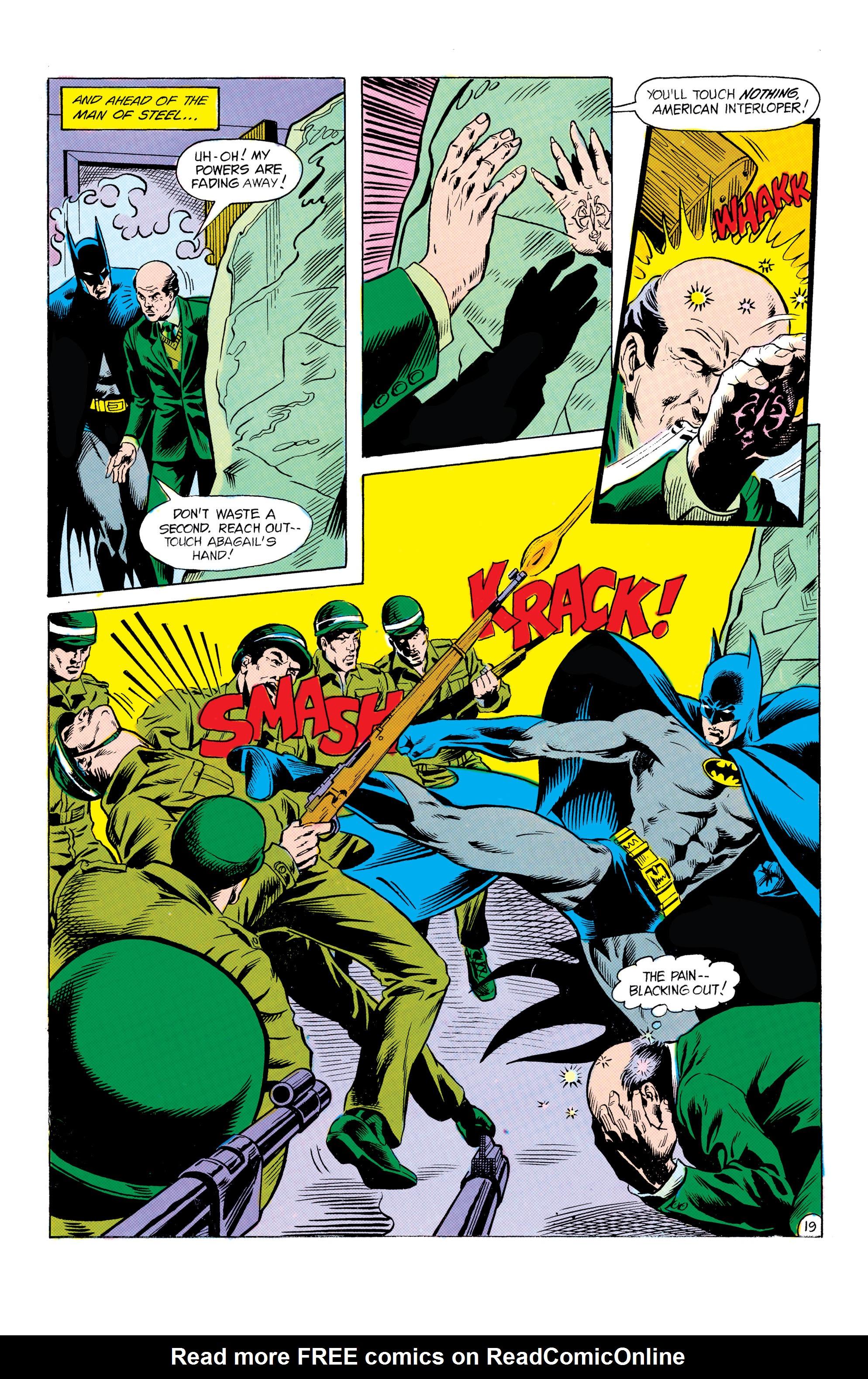 Read online World's Finest Comics comic -  Issue #306 - 20