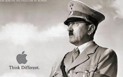 Denke anders als die anderen Hitler lustig - Spassbilder Werbung