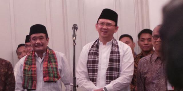 Survei Poltracking: Mayoritas Warga Jakarta Puas Kinerja Ahok-Djarot