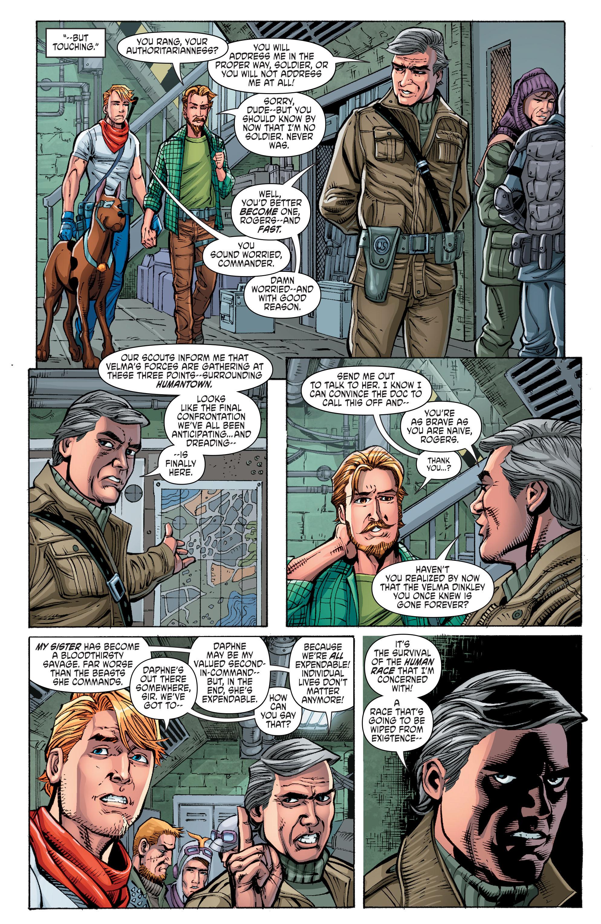 Read online Scooby Apocalypse comic -  Issue #10 - 11