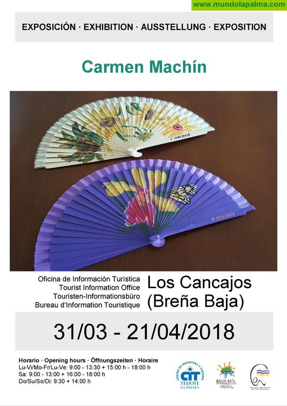LOS CANCAJOS: Cuadros & Abanicos de Carmen Machín