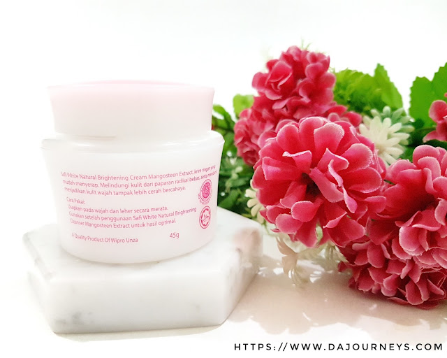 [Review] Safi White Natural Brightening Cream Mangosteen Extract