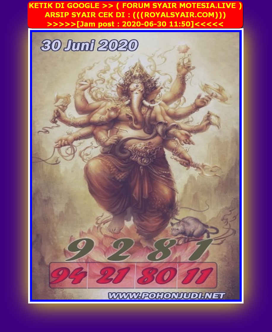 Kode syair Hongkong Selasa 30 Juni 2020 216