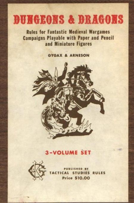 Imagen de Libro de reglas para jugar D&D Original (1974)
