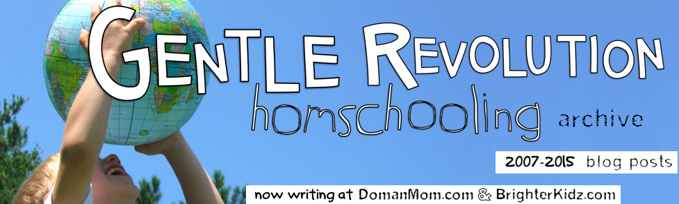 Gentle Revolution Homeschooling (Archive)