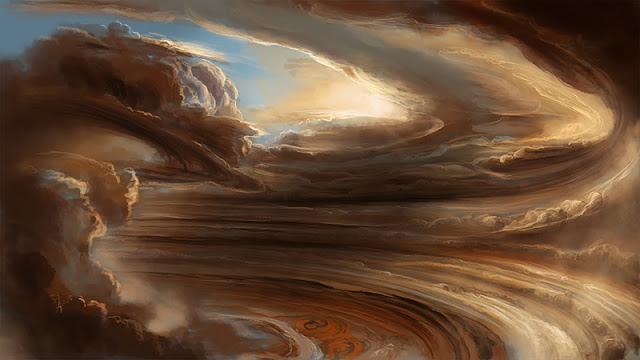 Las tormentas de Júpiter, según descritas por los miembros del SCP