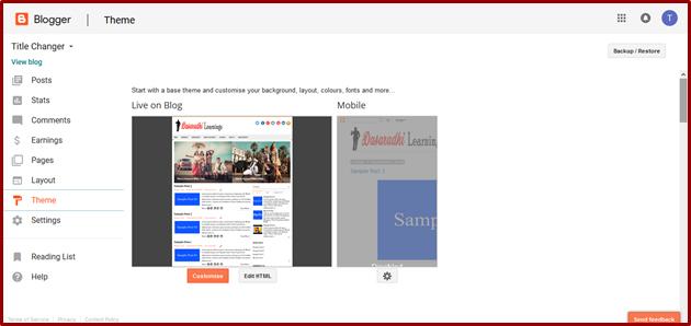 How to Create a Menubar in Blogger in Telugu | Blogger VJ