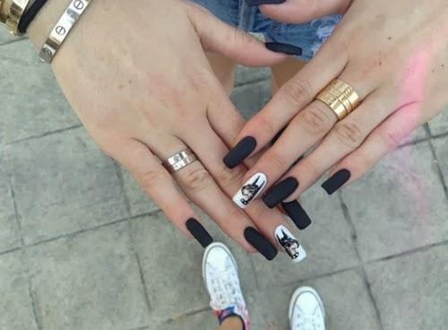 Most Popular Tumblr Nails Nail Designs