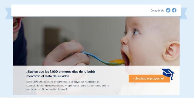 Resultado de imagen de Programa de Nutrición de Nestlé Bebé