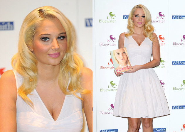 Most Searched Celebrity is Tulisa Contostavlos