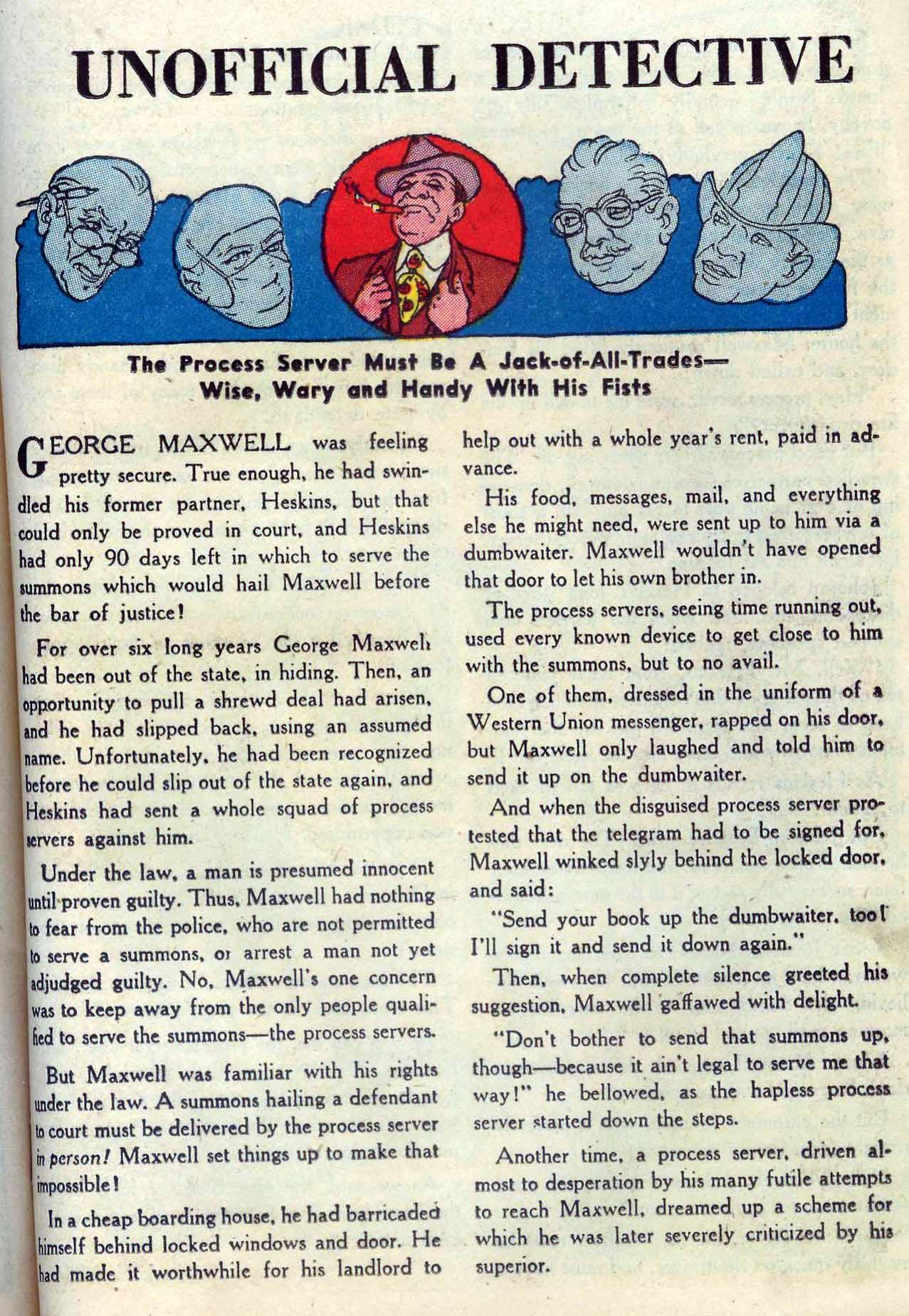 Read online Detective Comics (1937) comic -  Issue #204 - 31