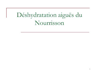 Déshydratation aiguës du Nourrisson .pdf