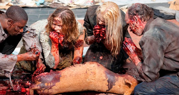Zombies Fear The Walking Dead