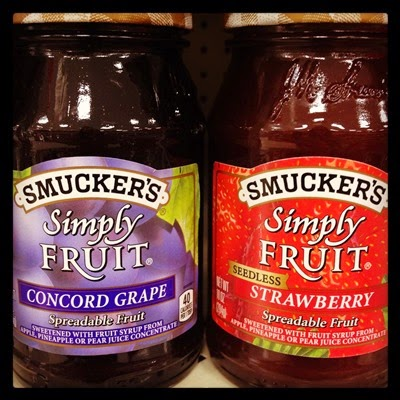 Vegan Vegetarian Food Kids Target Smuckers Simply Fruit Spreadable Fruit Jam Jelly