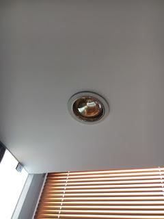 Đèn sưởi âm trần căn hộ