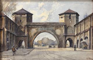 Hitler's painting of Senglingertor