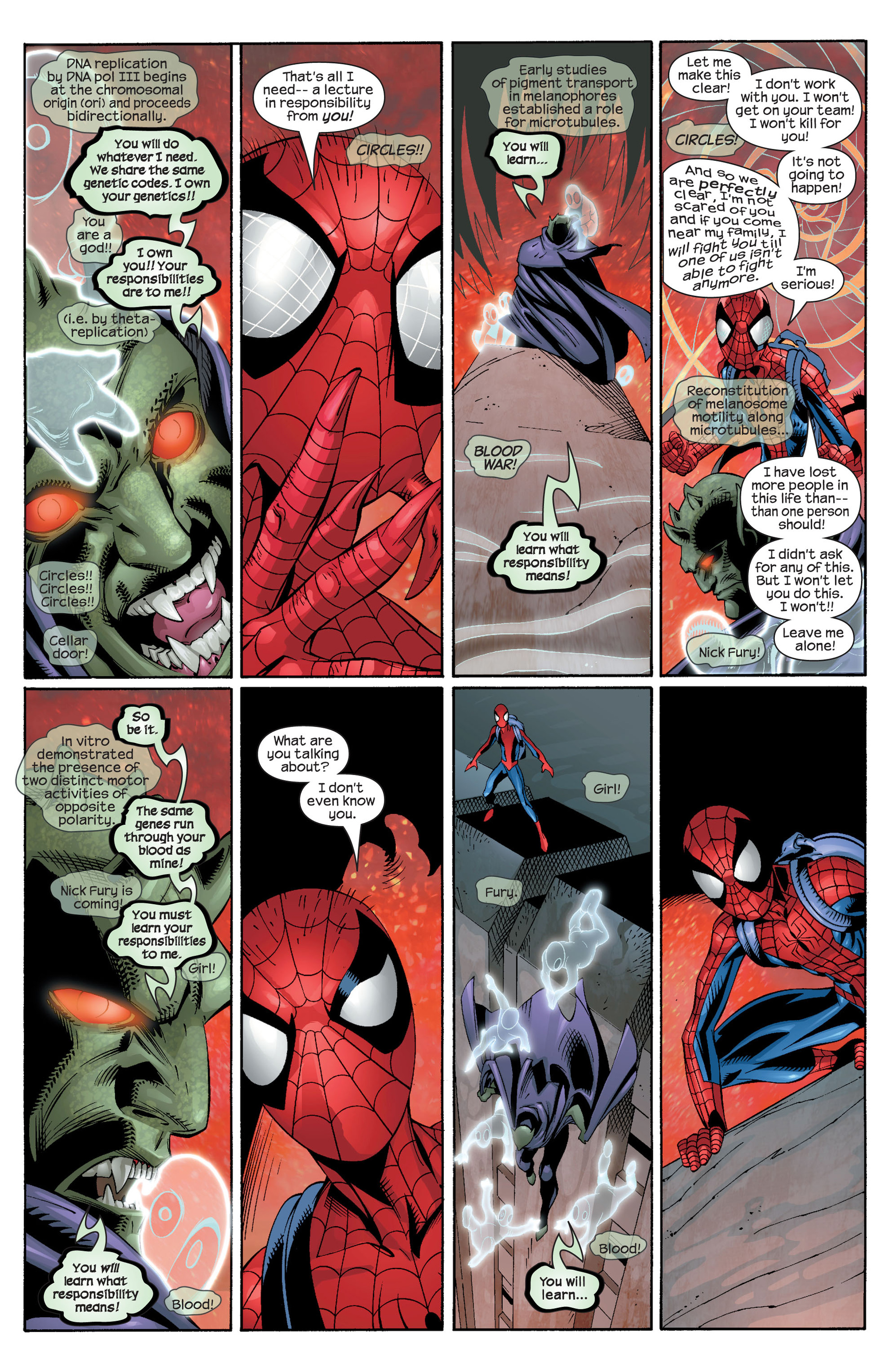 Read online Ultimate Spider-Man (2000) comic -  Issue #25 - 13