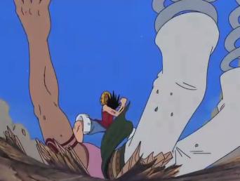 One Piece: Episódio 151 – O Homem de cem milhões! A autoridade máxima do mundo e o pirata Barba Negra!