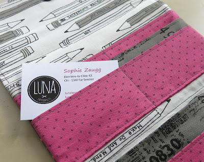 Luna Lovequilts - Wallet - Pattern by SLO Studio - Card pockets