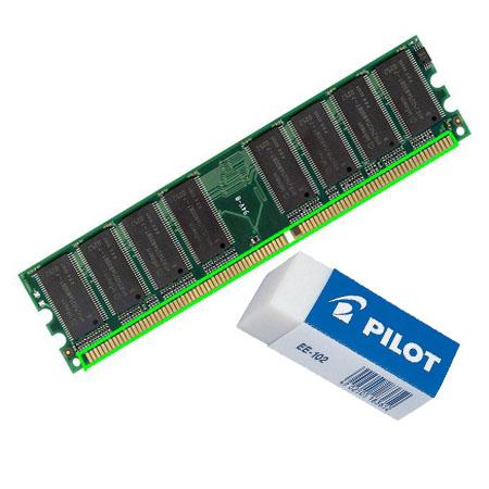 Langkah Bersihkan Pin RAM Computer dengan Penghapus