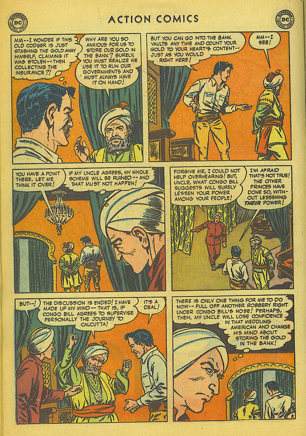 Read online Action Comics (1938) comic -  Issue #157 - 15