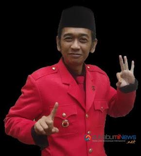Dwan Pembina Kowasi, H. Budi Wijaya sebagai Caleg DPRD nomor urut 3 untuk dapil 2 Kabupaten Sukabumi dari PDIP