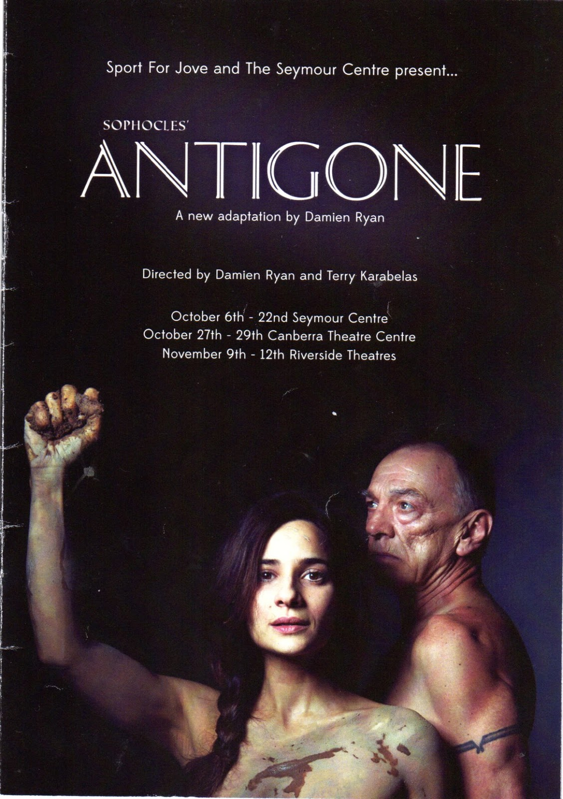 film adaptation of antigone Antigone project: soundtrack my group decided that the movie adaptation would be easier to pitch if it was set in the future, so i came up with a soundtrack based on the scenes i think this song portrays antigone's attitude of resignation and defeat along with ismene's desperation.