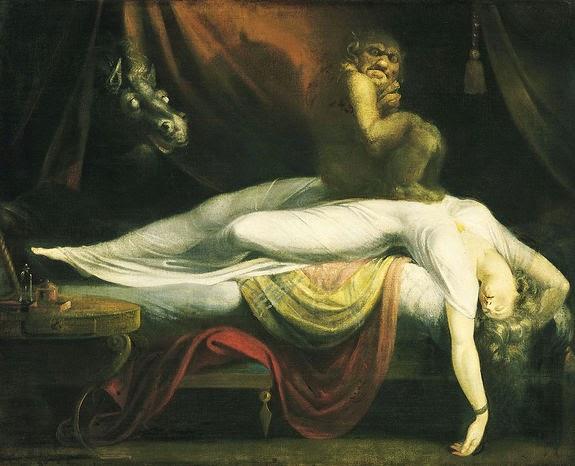 sleep paralysis atau kelumpuhan saat tidur