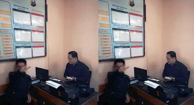 melaporkan penipu online ke kepolisian untuk mengetahui alamat nomor rekening penipu